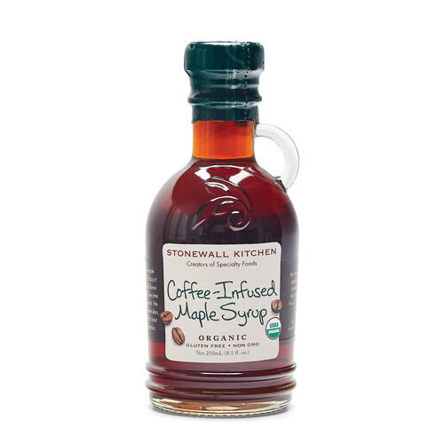 Organic Coffee Infused Maple Syrup