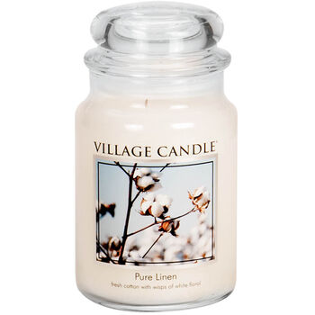 Pure Linen Candle