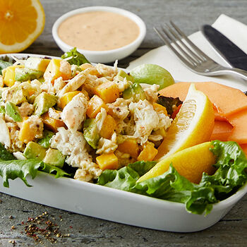 Crabmeat and Mango Salad