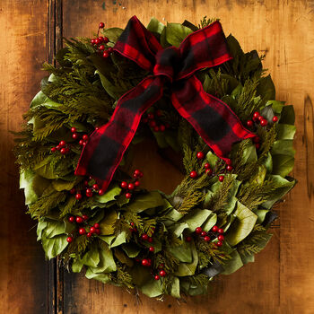 Berry Merry Christmas Wreath - 18""