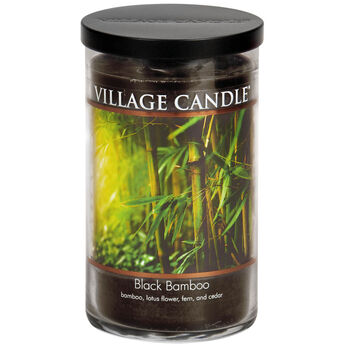 Black Bamboo Candle - Decor Collection