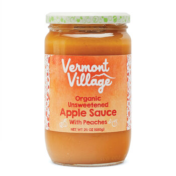 Peach Apple Sauce (Organic)