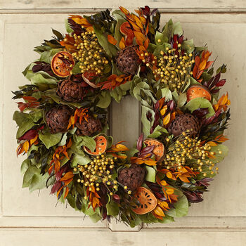"Quince 18"" Wreath"