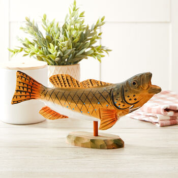 "12"" Wooden Fish"