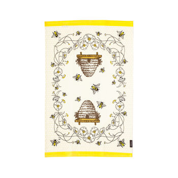 Beehive Tea Towel