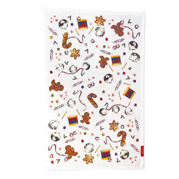Holiday Jubliee Tea Towel