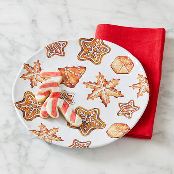 Gingerbread Cookies Plate