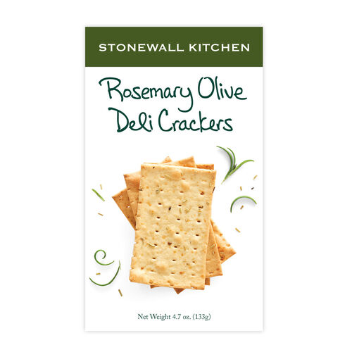 Rosemary Olive Deli Crackers