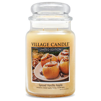 Spiced Vanilla Apple Candle