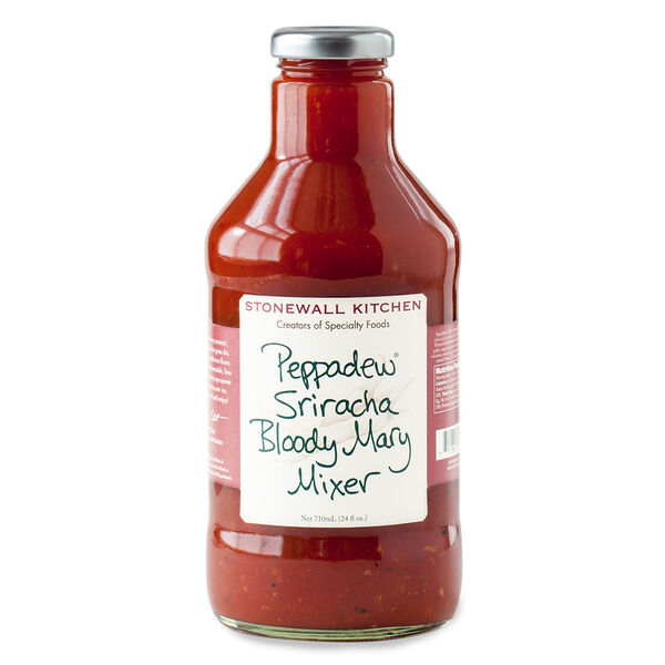 What's a Peppadew ® ? It's the very aromatic, slightly sweet, imported pepper that gives this Bloody Mary Mixer its uniquely delicious flavor. Combined with spicy sriracha, horseradish, lime juice and spices, we created a zesty eye-opener that's sure to please! Simply serve over ice, add your favorite vodka, garnish and enjoy!