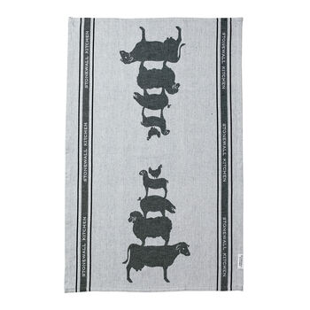 Farmyard Friends Tea Towel