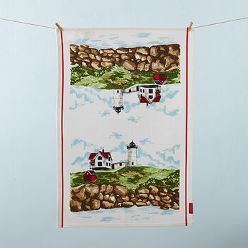 Cape Neddick Tea Towel