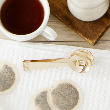 Gold Tea Tongs