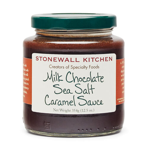 Milk Chocolate Sea Salt Caramel Sauce