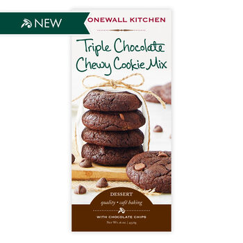 Triple Chocolate Chewy Cookie