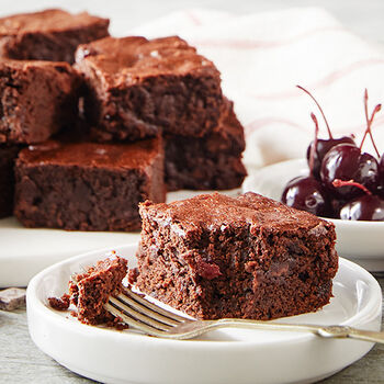 Fudgy Cherry Brownies