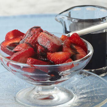 Strawberries with Balsamic Reduction
