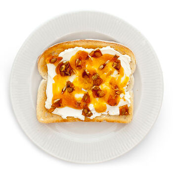 Maple Pumpkin Toast