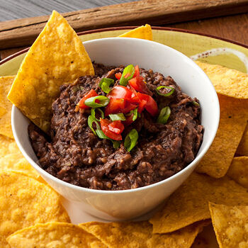 Bean Dip with Maple Chipotle Grille Sauce
