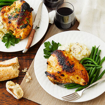 Broiled Maple Orange Chicken Breasts