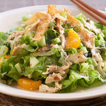 Sesame Ginger Chicken Salad