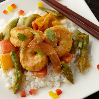 Vegetable Shrimp Curry