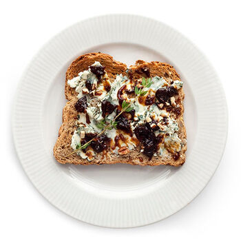 Blue Cheese Fig & Ginger Toast