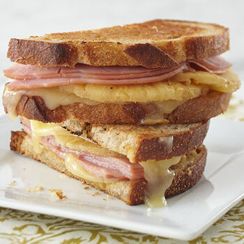 Hawaiian Grilled Cheese Sandwich