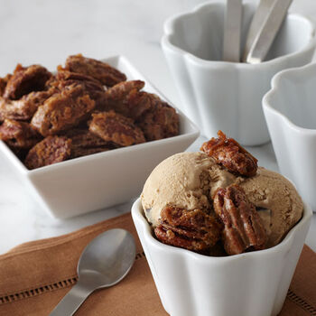 Coffee Caramel Pecan Ice Cream