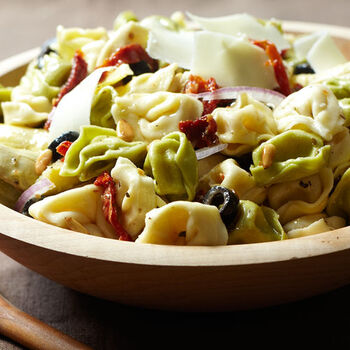 Tortellini Salad with Italian Dressing