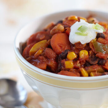 Vegetarian Chipotle Chili