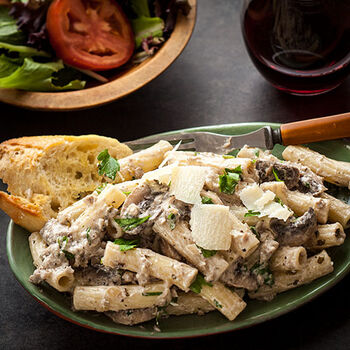 Pasta with Truffle Cream Sauce