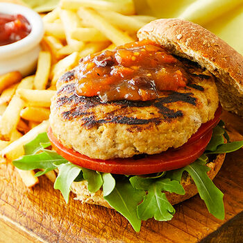 Best Ever Turkey Burgers