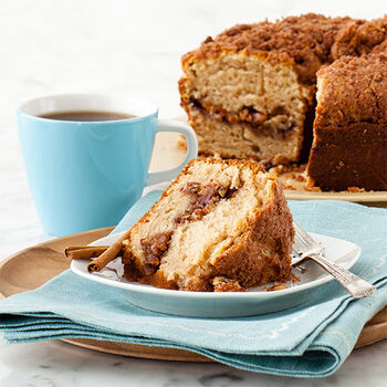 Stop & Smell the Coffee Cake