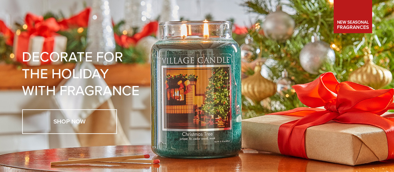 Village Candle Holiday Frangances